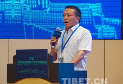 """藏族小伙扎西森格:藏汉双语电子平台""""美隆""""助力产业扶贫"""