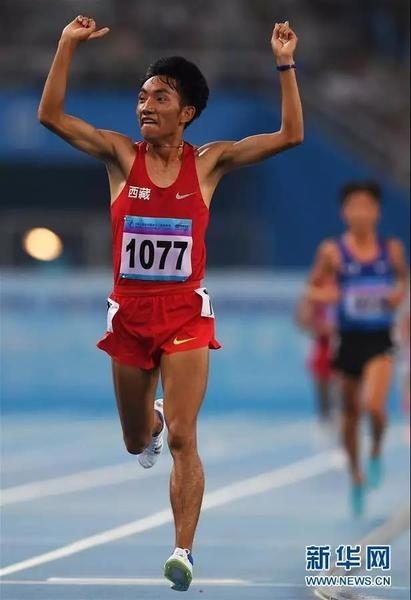 Former Tibetan shepherd boy aims to fulfill Olympic running dream