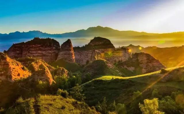 Qinghai: Staatspark Kanbula