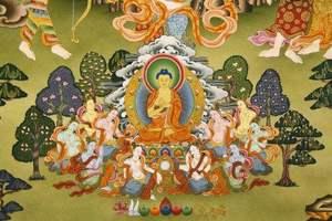 """预计""""十三五""""末西藏唐卡产业年产值达7亿元"""