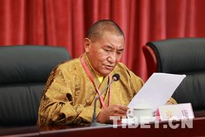 珠康活佛:佛学院的成立是伟大创举