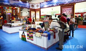 300余种西藏宝贝亮相文博会 创意呈现特色文化