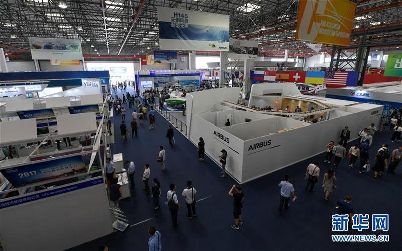 4. Hubschrauber-Expo in Tianjin eröffnet