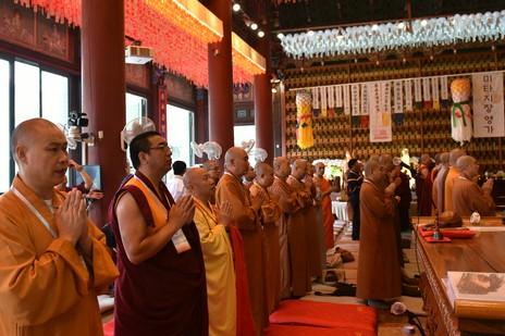 Chinesische Buddhismusdelegation besucht Südkorea