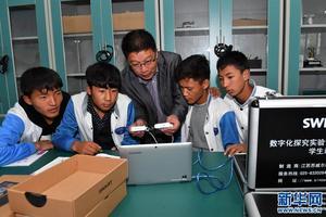 西藏高中阶段毛入学率近76%