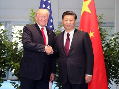Xi Jinping führt Telefongespräch mit US-Präsident Trump