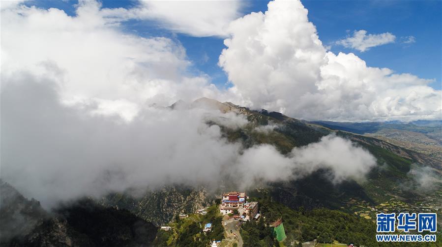 Karchu-Kloster in Tibet