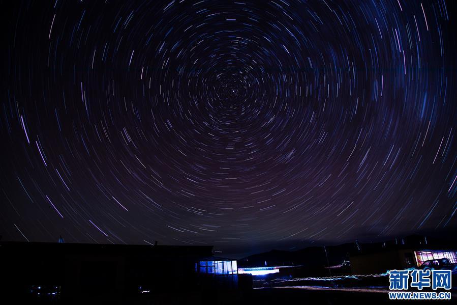 Sternenhimmel in Ngari