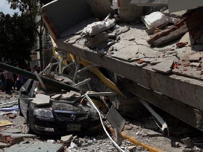 Rund 250 Tote nach Erdbeben in Mexiko