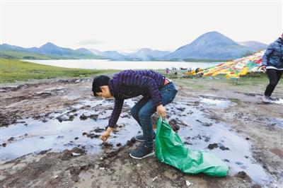 墨竹工卡县文旅局开展旅游环境卫生整治活动