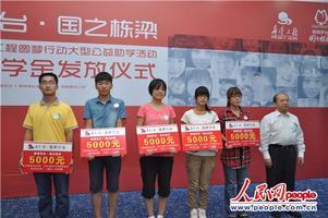 贵州茅台向西藏希望工程发放助学金
