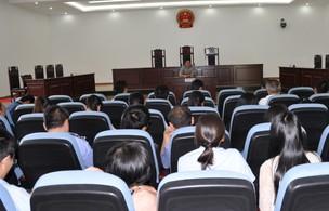 最高法讲师团赴藏巡回授课