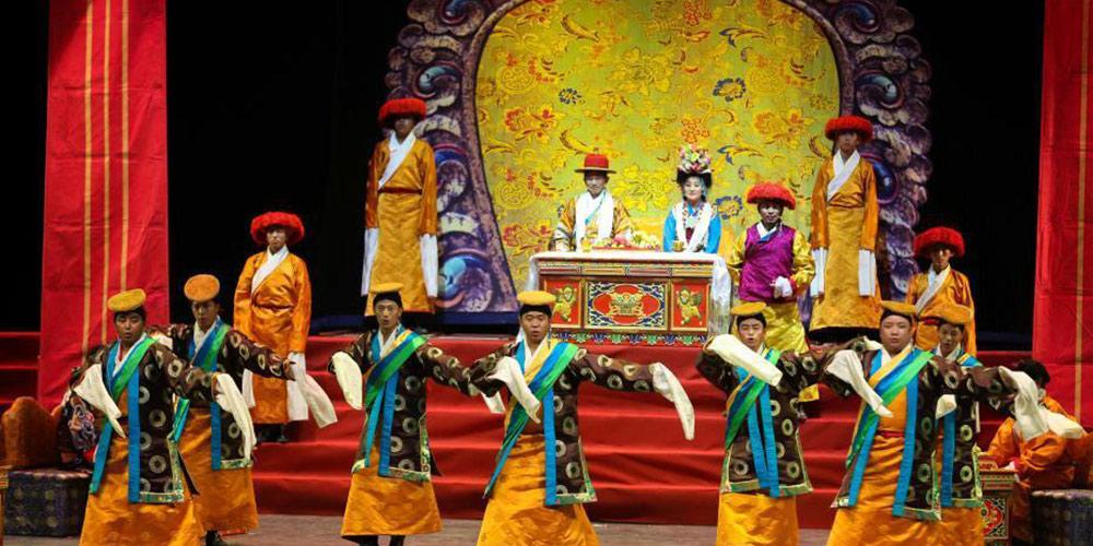 传统藏戏《卓娃桑姆》走进高校