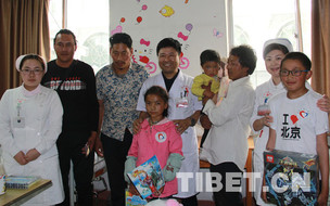 青海省3位先心病患儿在陆军总医院接受免费救治