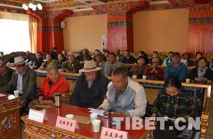 西藏老干部畅谈十八大以来家乡新变化