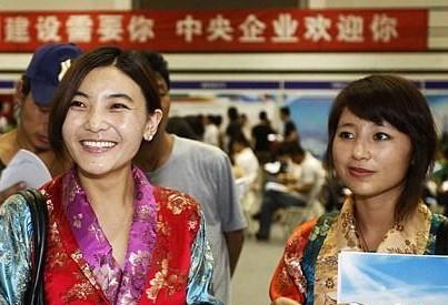 Tibet stellt Unterkunft für Hochschulabsolventen