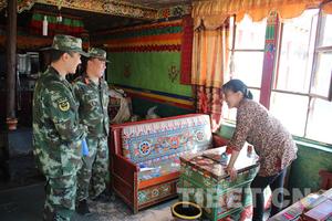 西藏边防开展安全隐患排查活动 为十九大保驾护航