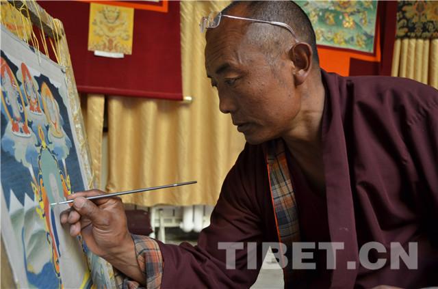 藏娘唐卡:三江源的艺术瑰宝
