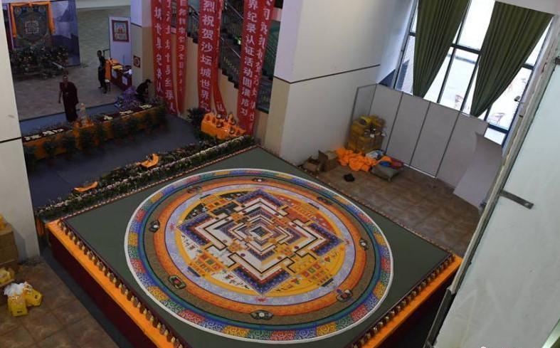 Chakra-Vajrapani-Mandala Highlight in Dunhuang