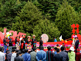 2017·西藏仓央嘉措情歌文化旅游节在错那开幕