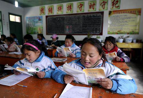 Tibet hat 15-jährige freie Bildung umgesetzt