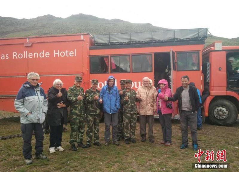 20 Deutsche in Tibet von chinesischer Grenzschutztruppe gerettet