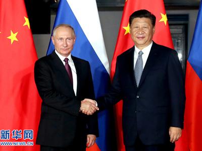Xi Jinping trifft Putin