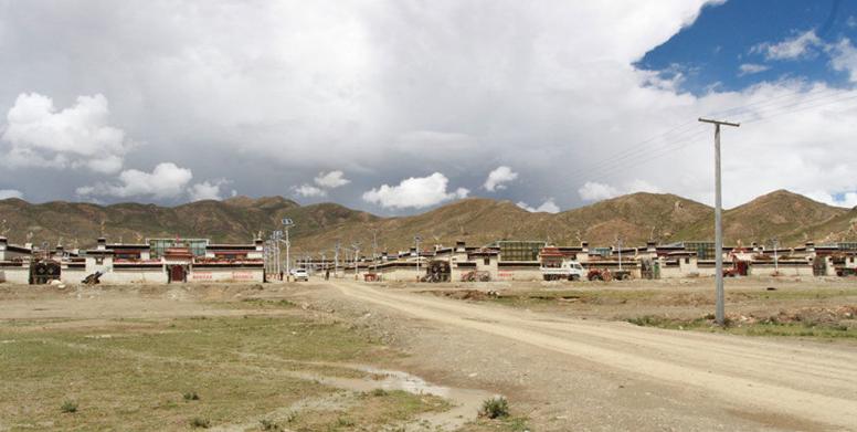 Dorf Yidi wird ins neue Dorf Pu umgezogen