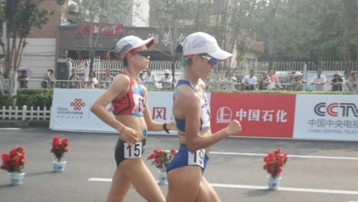 Chinesische Spiele: Qieyang Shenjie gewinnt Silber beim Frauen-20km-Gehen