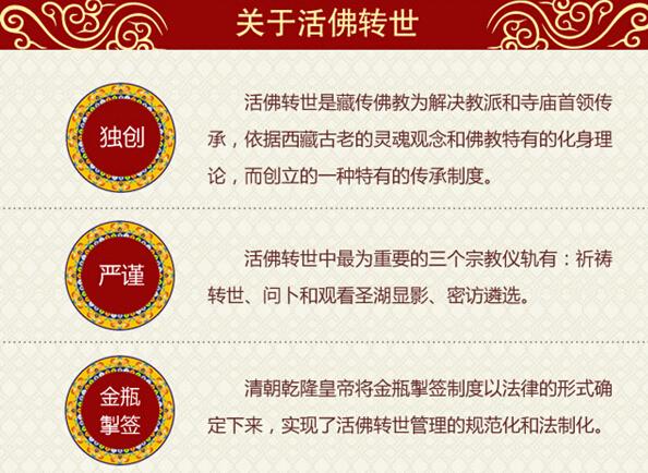 一图读懂《藏传佛教活佛转世管理办法》