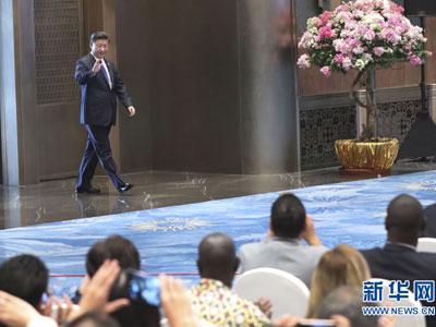 Xi Jinping stellt Ergebnisse des BRICS-Gipfels vor