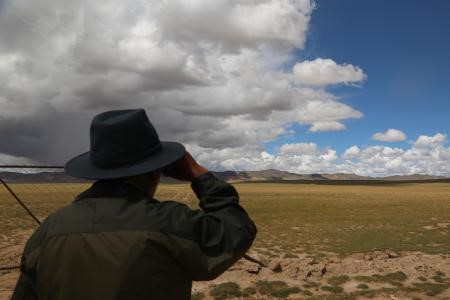 Die Wildpfleger des Naturschutzgebiets Changtang