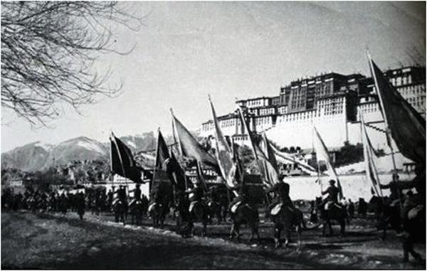 """【讲好中国故事】十八军进藏 生动诠释""""老西藏精神""""--芦继兵讲故事之六_独家新闻_中国西藏网"""