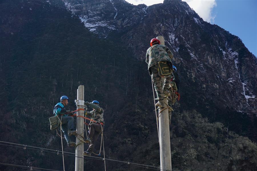 Yumai in Tibet hat bald endlich genug Strom