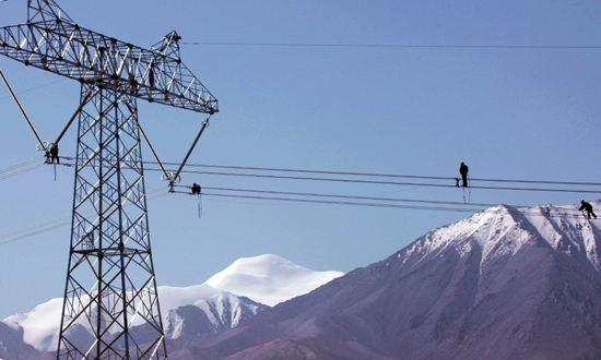 Stromanlagen schicken über 4,4 Mrd. kWh Strom nach Tibet