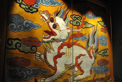 Tibetische ethnische Teppichmesse