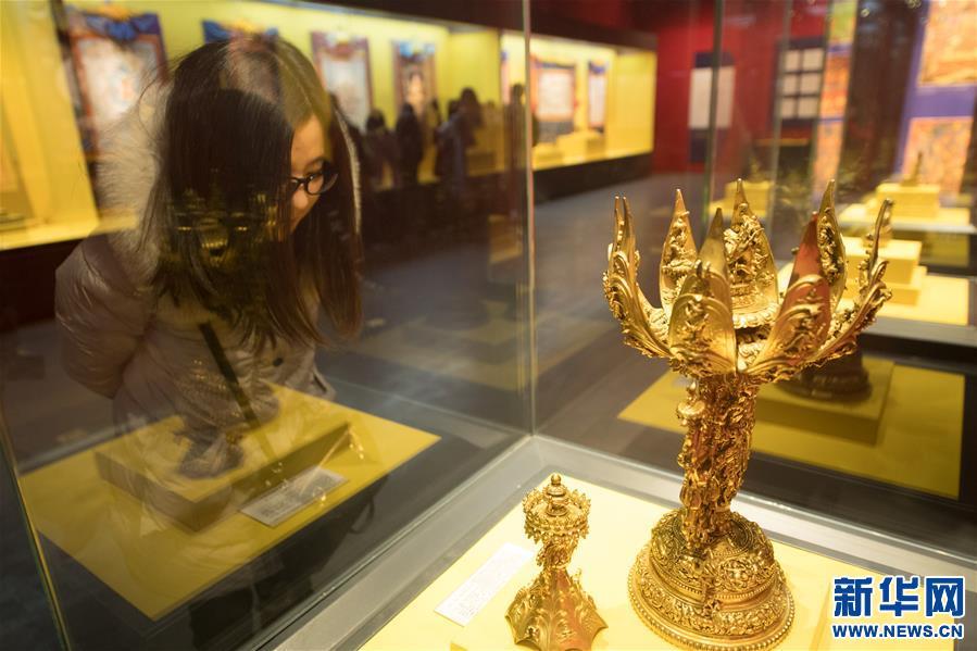 Kulturschatz Tibets wird im Zhejiang-Museum ausgestellt