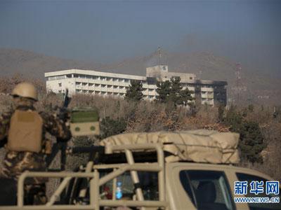 Mindestens elf Tote bei Anschlag auf Luxus-Hotel in Kabul