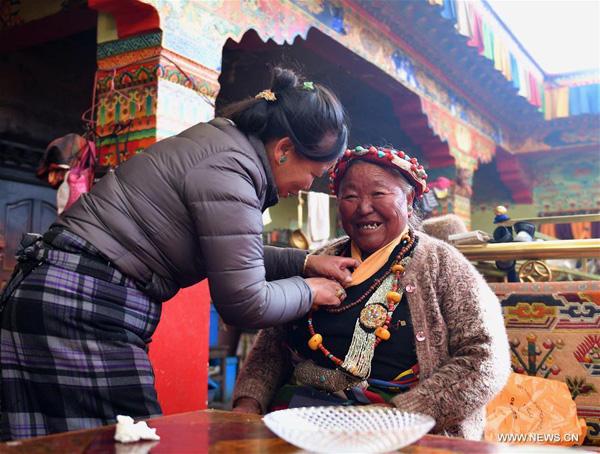 Neujahrsfest der Landwirte in Tibet gefeiert