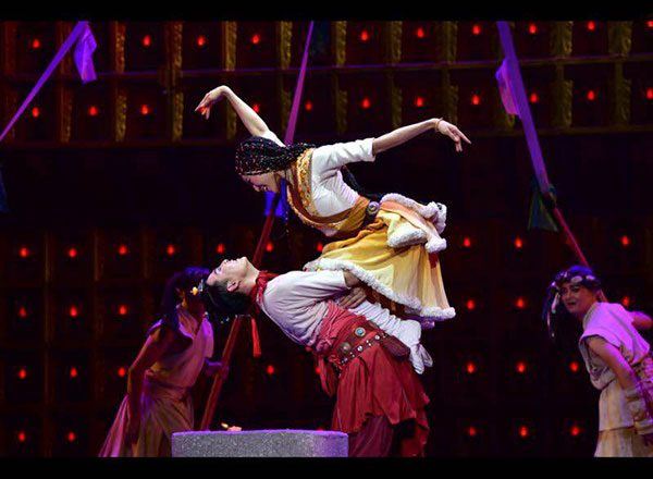 Dance drama highlights Tibetan culture