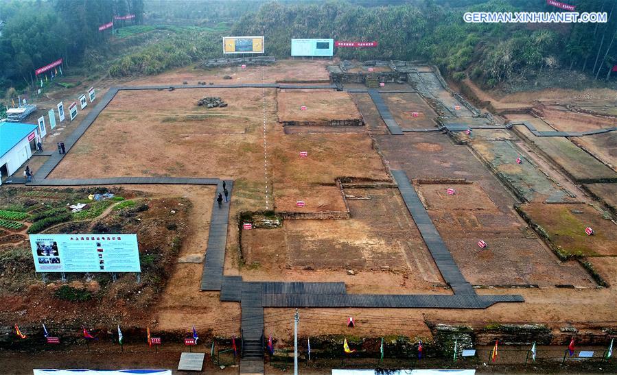 Chinas größter taoistischer Tempel in Jiangxi ausgegraben