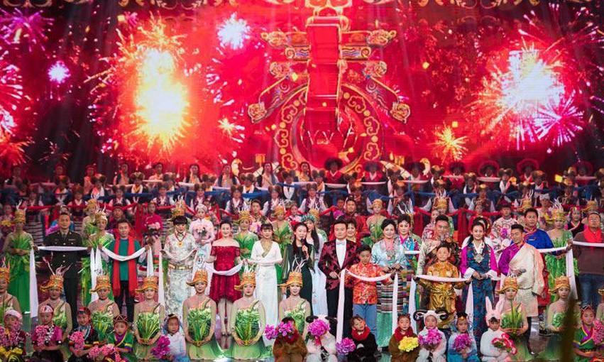Tibetische Neujahrsgala: Integration mehrerer ethnischer Besonderheiten