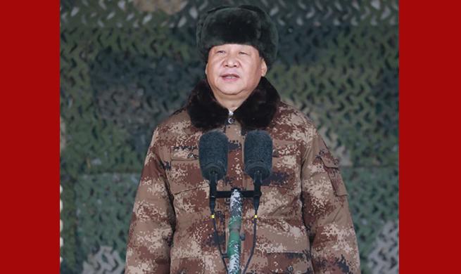 Xi stresses real combat training