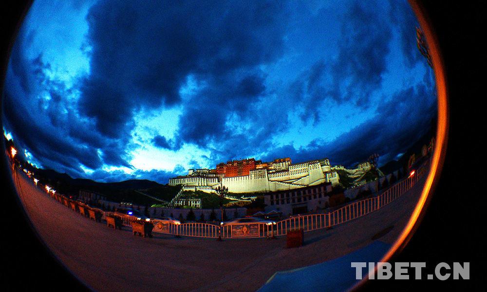 Der Potala-Palast im Herzen