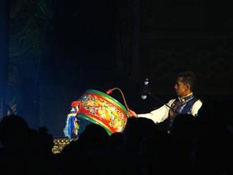 西藏借古老藏戏传播共同富裕理念
