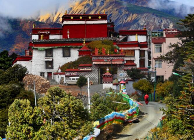 西藏卡久寺