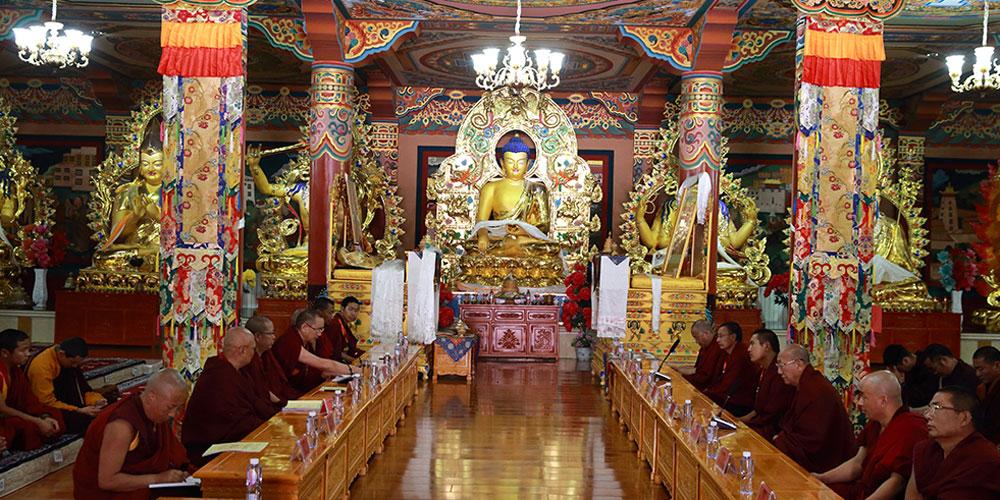 """藏传佛教服务""""一带一路""""建设研讨会暨""""知恩•报恩""""教义阐释成果宣讲交流会在青海举行"""
