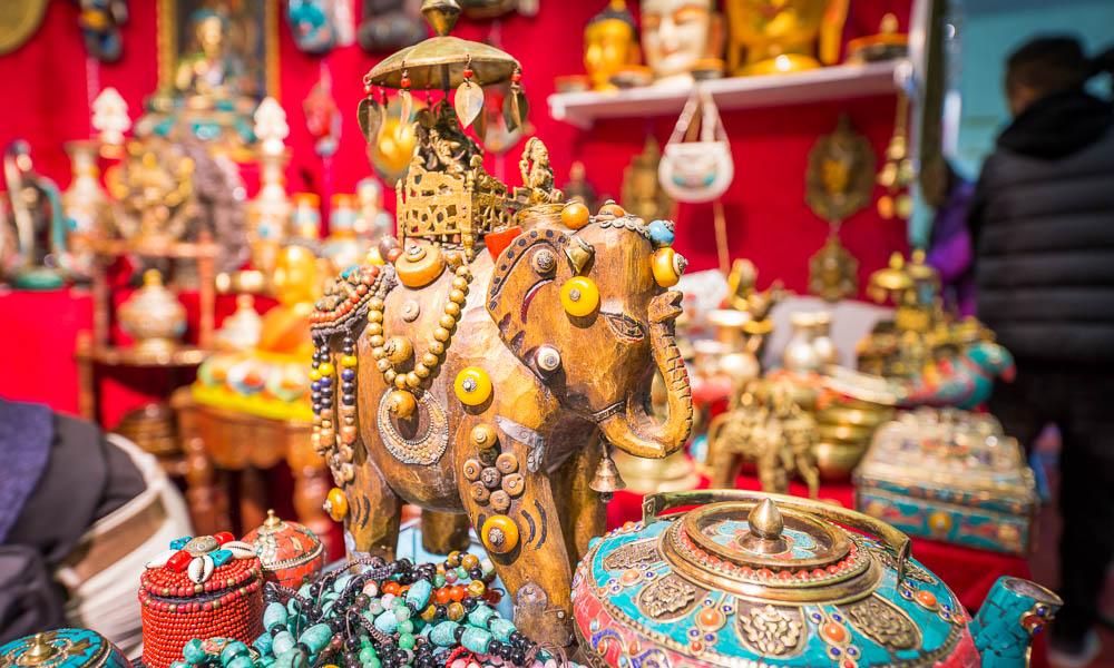 感觉尼泊尔风情,直击中尼经贸洽商会产物展销现场