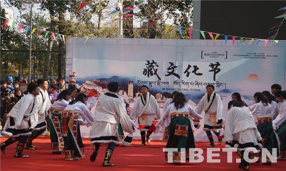 """唱歌 跳舞 走秀 看展  中央民族大学藏文化节有点儿""""嗨"""""""
