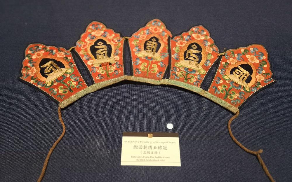 四川甘孜州民族博物馆里的精美康巴文化